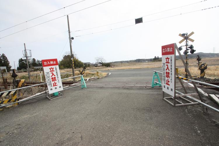 福島県南相馬市の避難指示解除準備区域