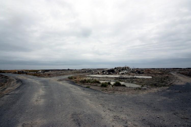 福島県南相馬市避難指示解除準備区域「小沢」の様子